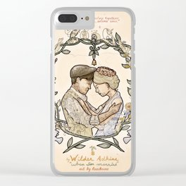 "Illustration from the video of the song by Wilder Adkins, ""When I'm Married"" Clear iPhone Case"