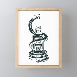 Blood of The Serpent Framed Mini Art Print