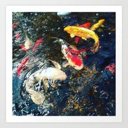 魚 Sakana Art Print