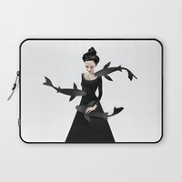 elegant Laptop Sleeves featuring News from afar by Ruben Ireland
