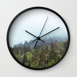Whispering Forest Wall Clock