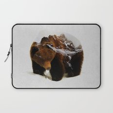 Bear In The Mountains Laptop Sleeve