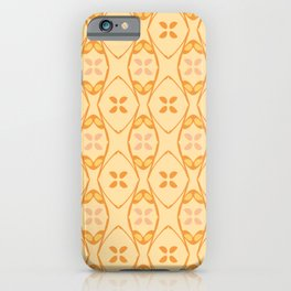 Flower Mesh Pattern iPhone Case
