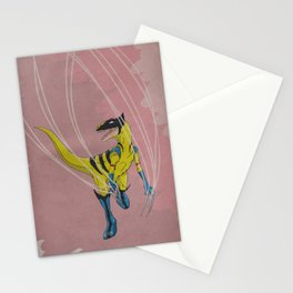 Wolveraptor - Superhero Dinosaurs Series Stationery Cards