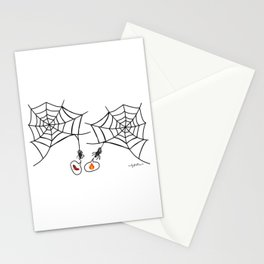 Catching up with friends Stationery Cards
