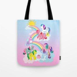 g1 my little pony Twinkle Eye ponies Tote Bag