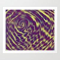 Purple II Art Print