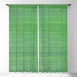 Mean Green Boxcar Detail Metal Rivets  Blackout Curtain