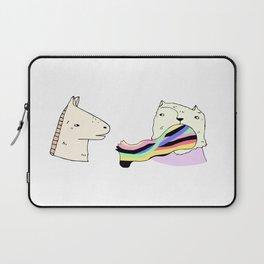 Rainbow Foot Laptop Sleeve