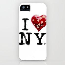 Banksy * I Love New York iPhone Case