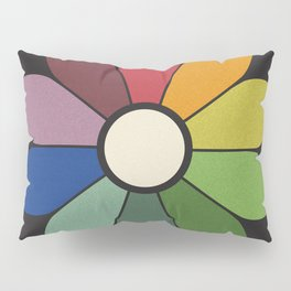 James Ward's Chromatic Circle Pillow Sham