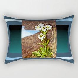 High Country Gentian Flower Rectangular Pillow