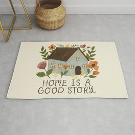 Home is a Good Story Rug