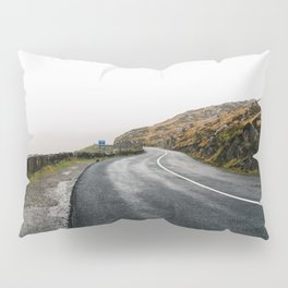 Misty Lonely Road Pillow Sham