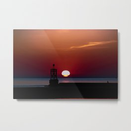 Another Sunset. Metal Print