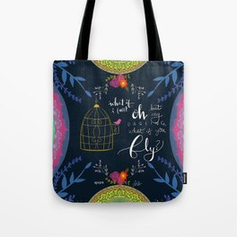 First Step Tote Bag