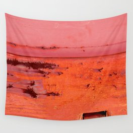 Paint Peeling like Mars Wall Tapestry