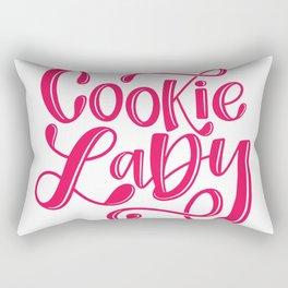 cookie lady 3 Rectangular Pillow