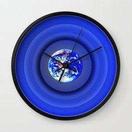 Earth Rings Wall Clock