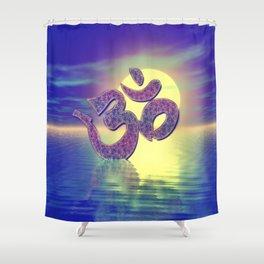 Om Zeichen Shower Curtain