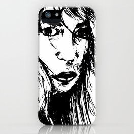 Mindy in wind iPhone Case