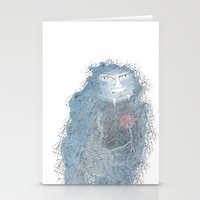beast Stationery Cards featuring Beast by Morag Hood