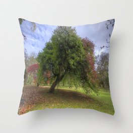 Waiting for Fall Throw Pillow