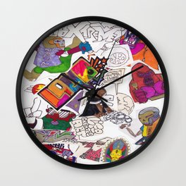 WELCOME to PlanetLOUDville  Wall Clock