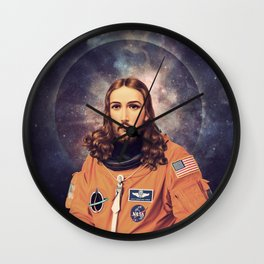 "Jesus ""Space Age"" Christ - A Holy Astronaut Wall Clock"