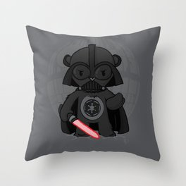 Care Vader Throw Pillow