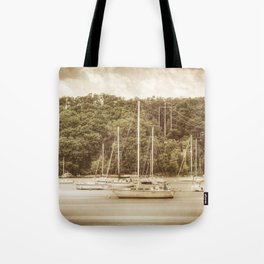 Smooth Sailing - Nostalgic Tote Bag