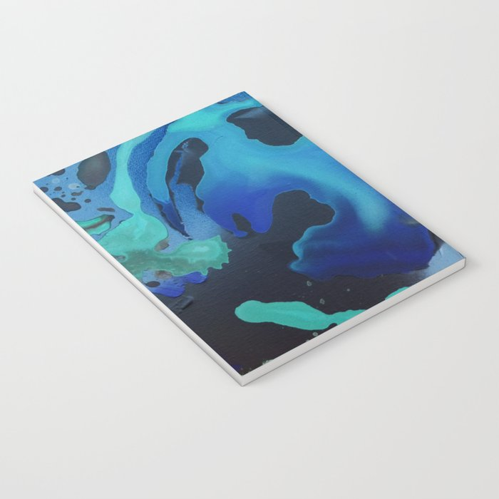 Swim with the Mermaids in the Great Natural Deep Blue Sea Notebook