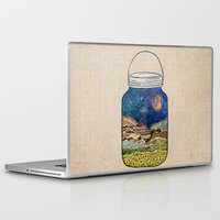 rustic Laptop & iPad Skins featuring Star Jar by Jenndalyn