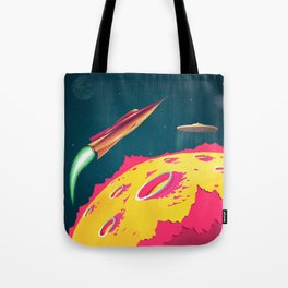 FLYING SAUCERS ATTACK Tote Bag