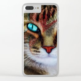 Kitty Stardust Clear iPhone Case