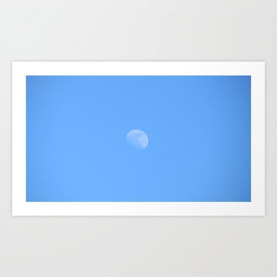 Inconstant Moon Art Print