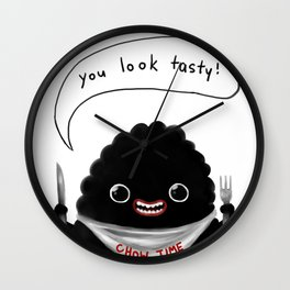 CHOW TIME Wall Clock