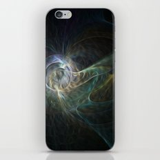 Cloud swirl iPhone & iPod Skin