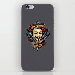 Fifth of November iPhone Skin