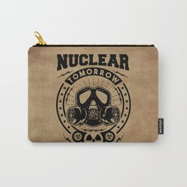 Nuclear Tomorrow vintage Carry-All Pouch