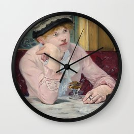 Manet,Fine Art,Beautiful,Wall Art,Framed,Poster,Canvas,Prints,Notebooks,Card,Gift,Gifts,Special,Rare Wall Clock