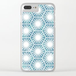 Watercolor daisy Clear iPhone Case