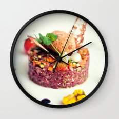 Beef Tartar Wall Clock