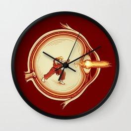 Optic Blast Wall Clock