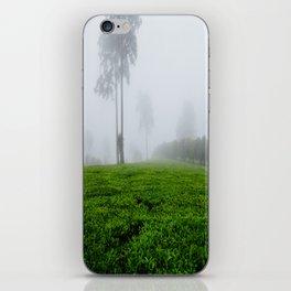 Tea plantation in Africa iPhone Skin