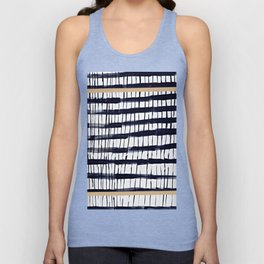 StrIpES to BlAck Nd ChIc Unisex Tank Top