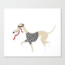 Whippet Thief Canvas Print