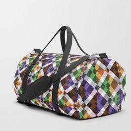 Retro Box Mosaic Duffle Bag