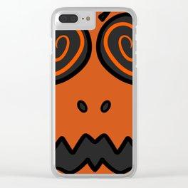 Spook friend Clear iPhone Case