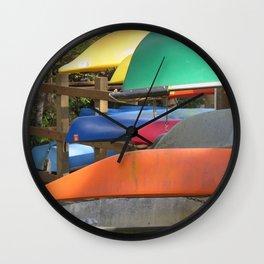Pointe Kayaks 14 Wall Clock